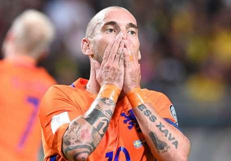 Sneijder misses Dutch glory days