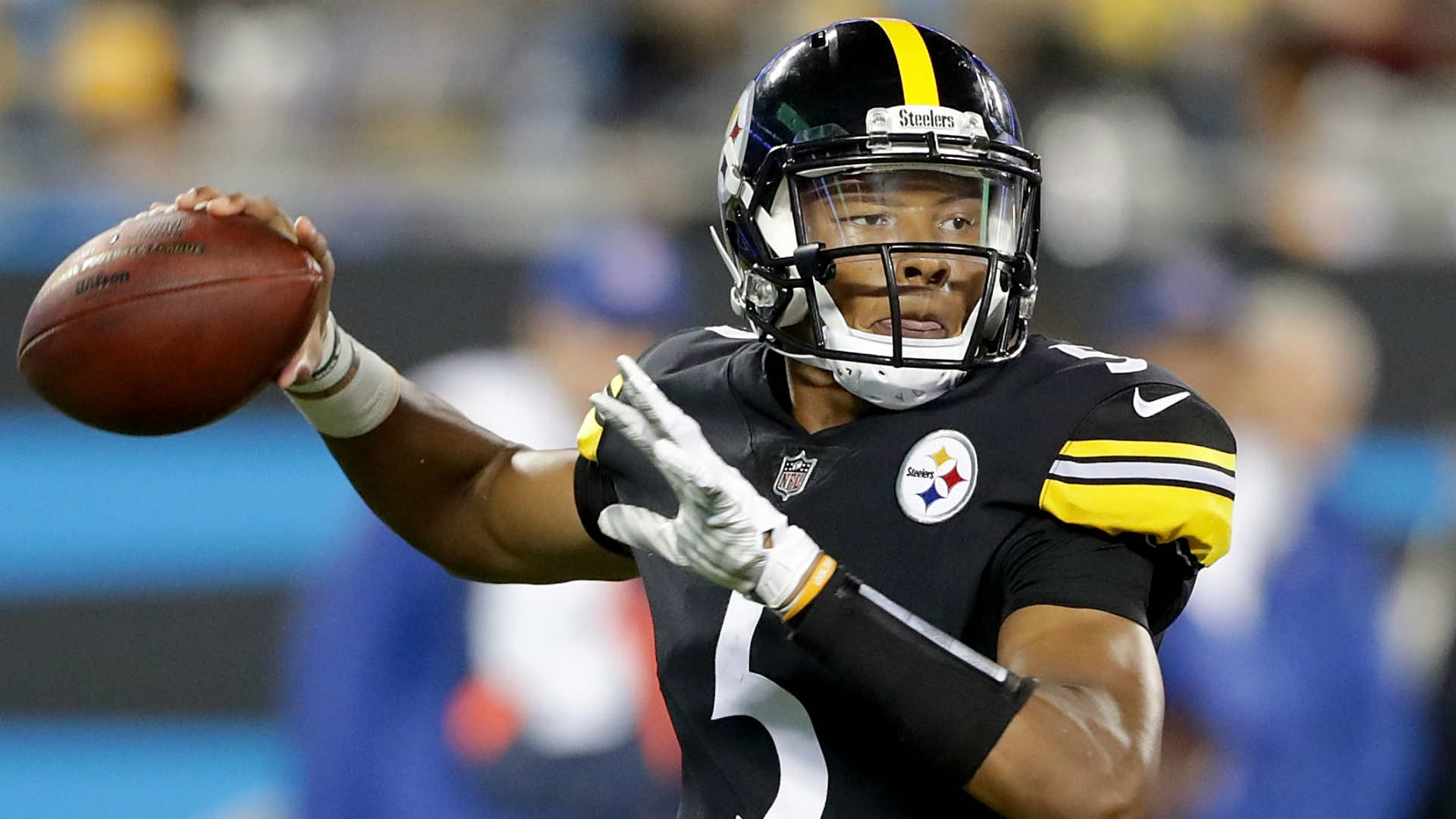Steelers' Josh Dobbs accounts for two TDs vs. Panthers ...