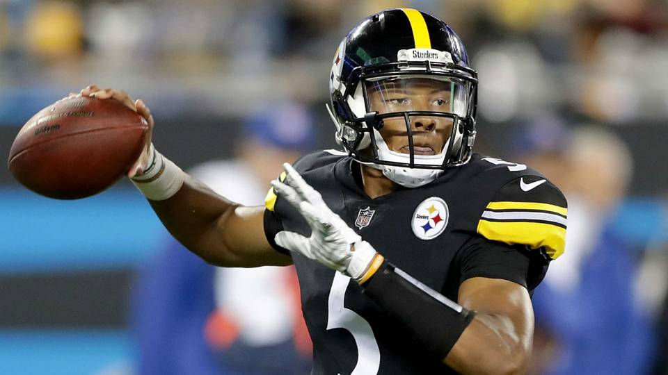 Steelers  Josh Dobbs accounts for two TDs vs. Panthers bf537de39