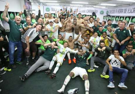 Chapecoense retain top-flight status