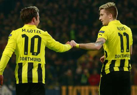 Reus and Gotze net in Dortmund win