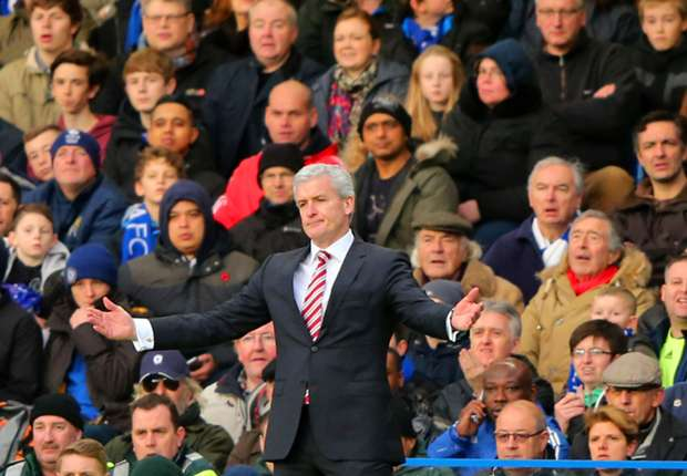 Hughes questions free-kick after FA Cup defeat to Chelsea