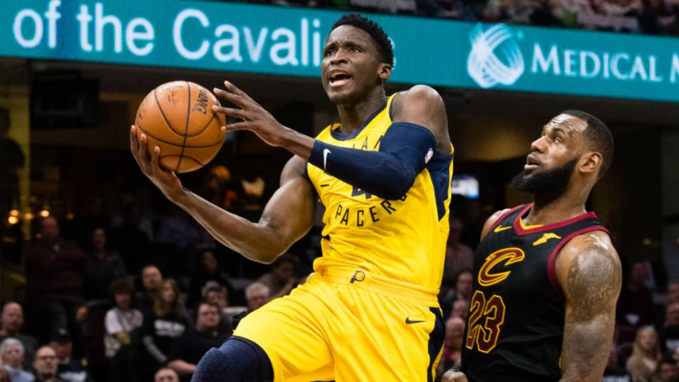 NBA playoffs 2018: League admits LeBron James' block on Victor Oladipo in Game 5 was goaltending ...
