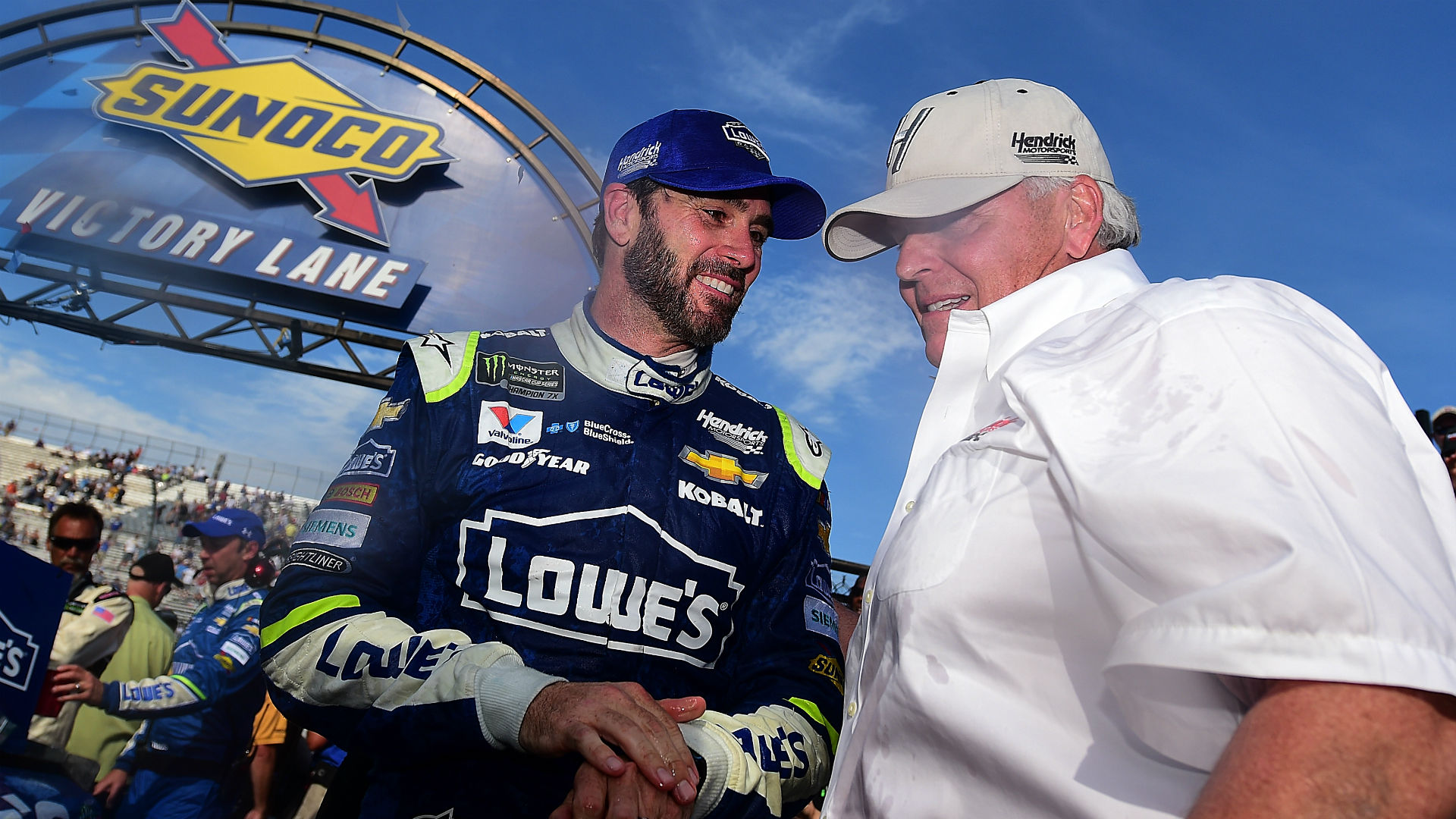 Jimmie Johnson talks Hendrick and Lowe's extensions at MIS