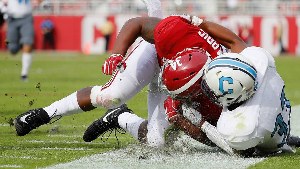 Damien Harris Injury Update Alabama Rb Clears Concussion Protocol