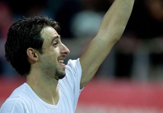 El defensor de Sevilla sueña con una nueva chance en la Selección argentina.