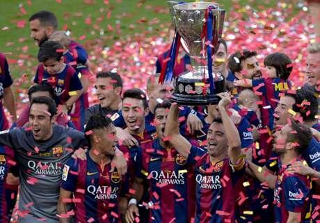 Luis Enrique values league triumph