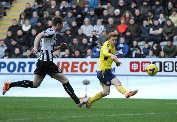 Sunderland midfielder Colback revels in derby goal