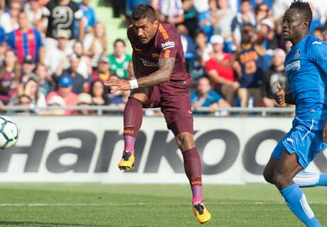Arrependida, torcida do Barcelona se rende a Paulinho: