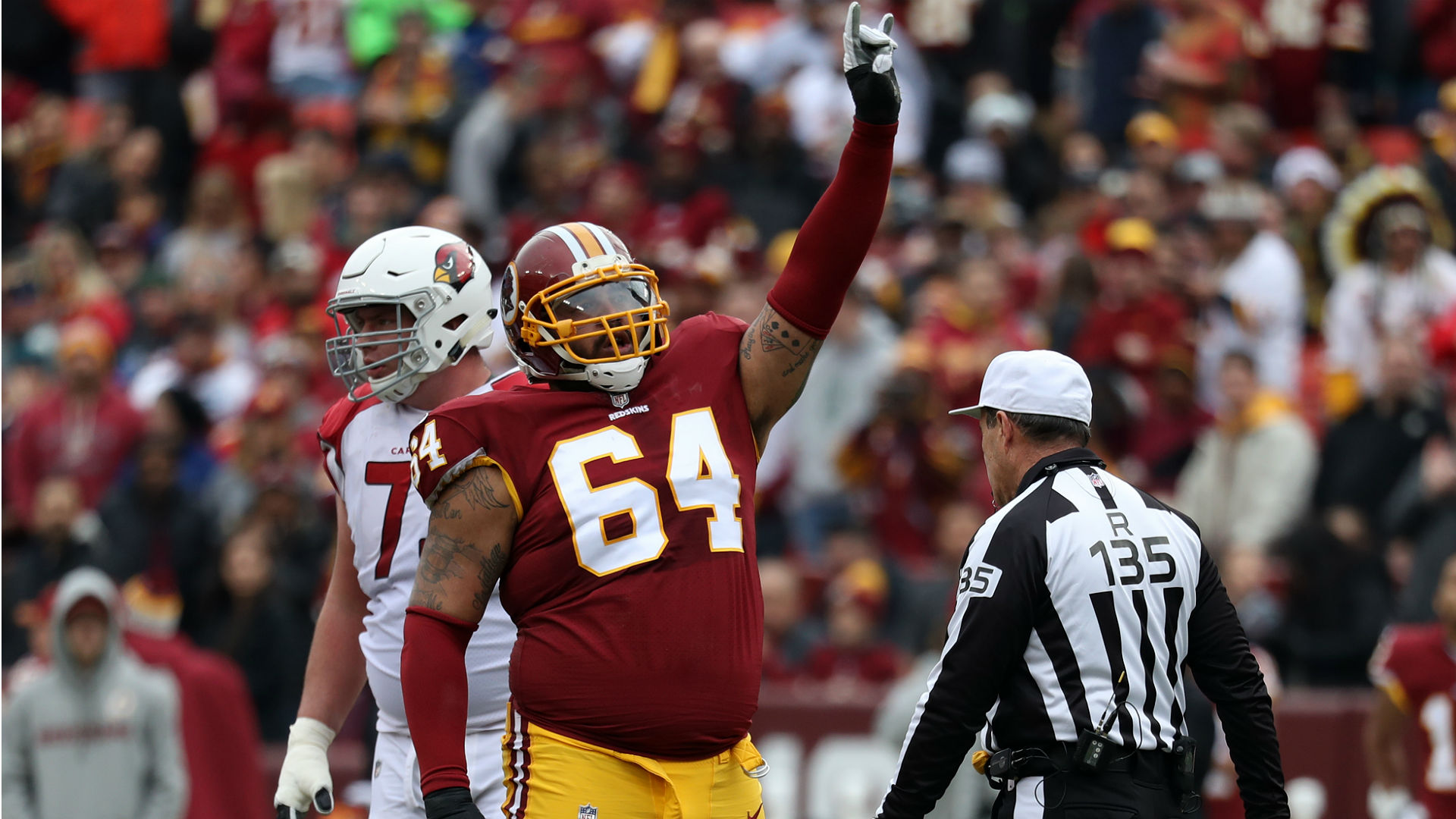 Lineman shreds Redskins after signing with the Giants