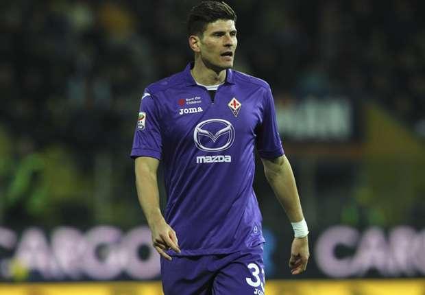 Fiorentina striker Mario Gomez
