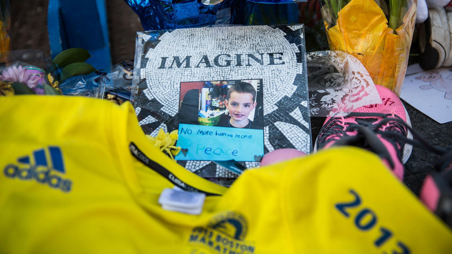 Memorial to 8-year-old Martin Richard