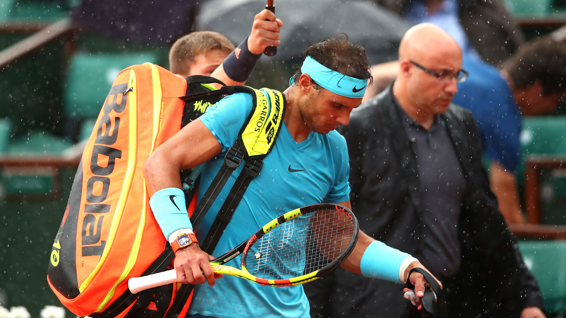 Rafael Nadal boosted by rain delay as he storms beyond Diego Schwartzman