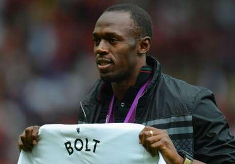 Usain Bolt set to make Man Utd debut