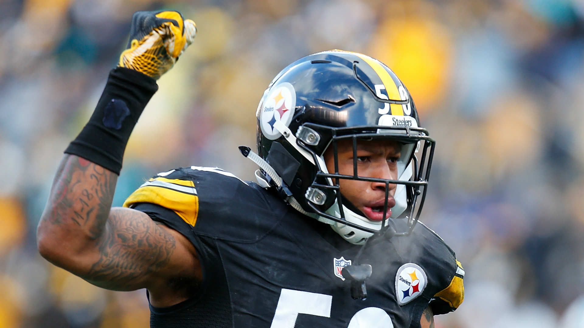 Steelers' Ryan Shazier, fiancee expecting baby boy