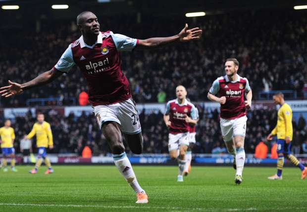West Ham striker Cole on Redknapp's radar