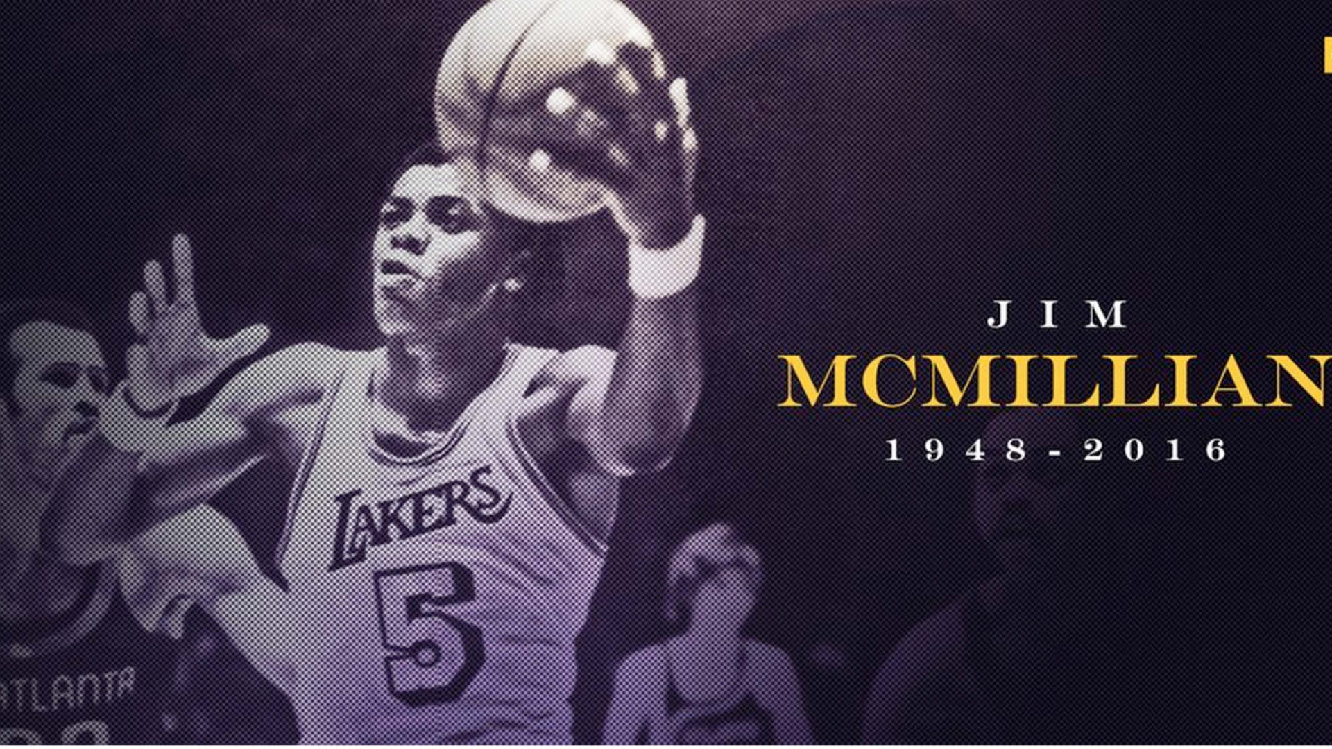 Former Laker Jim McMillian s at 68 NBA