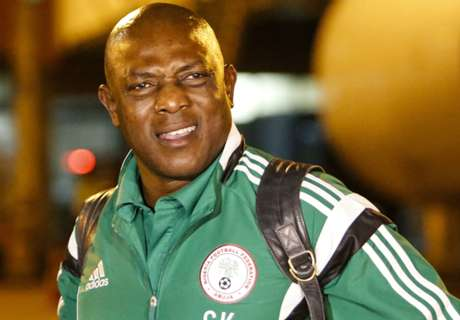 Keshi fired as Nigeria coach