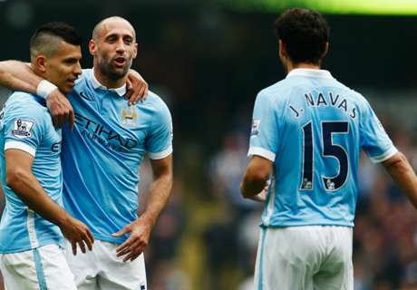 Zabaleta: City players 'suspect changes'