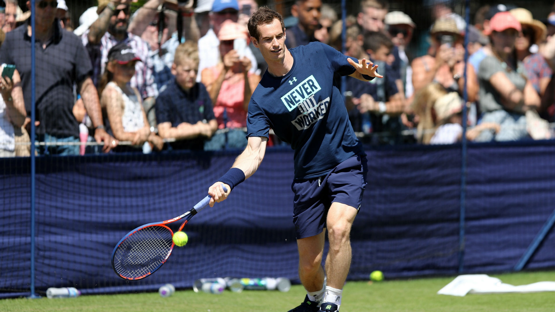Andy Murray starting from scratch at Citi Open