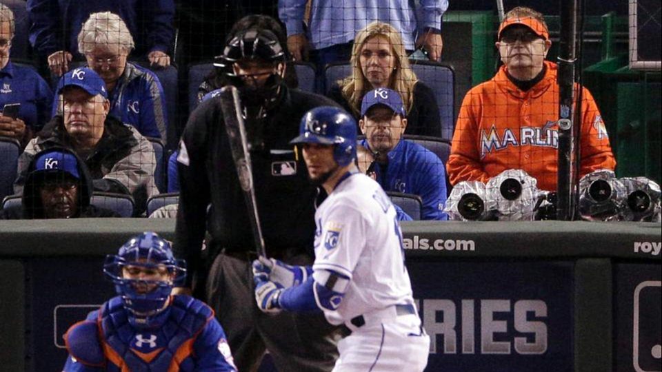 Laurence Leavy aka the Marlins Man