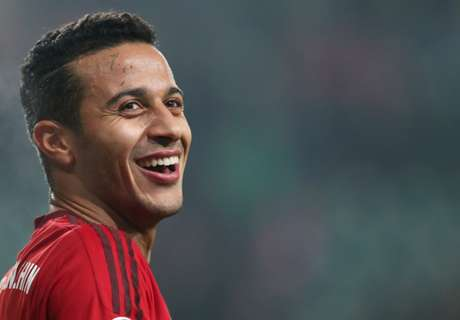 Thiago pledges future to Bayern