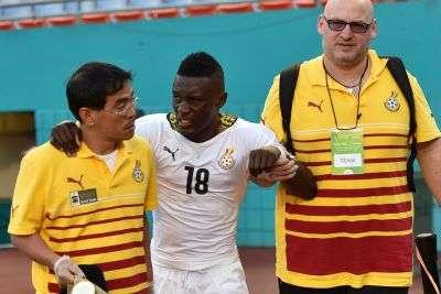 Ghana face anxious wait on injured Waris