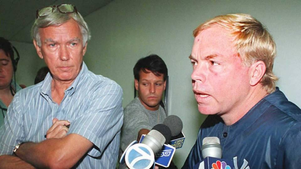 Gene Michael, left, and Buck Showalter