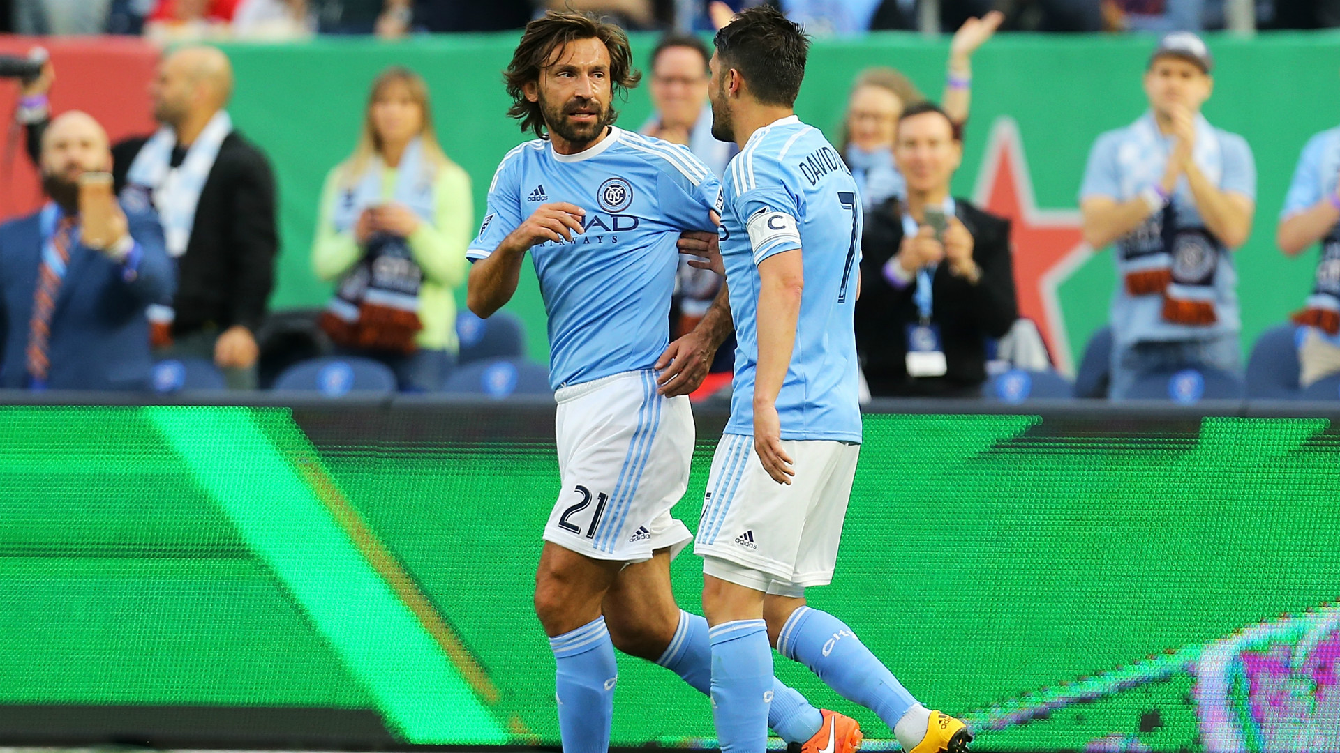 David Villa scores wonder goal as NYCFC beat the Philadelphia Union