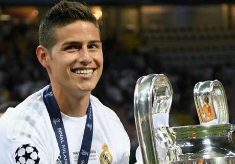 James not signing for Juventus