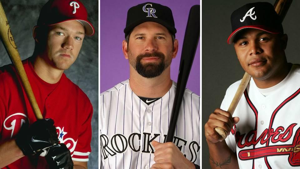 Scott Rolen, Todd Helton, Andruw Jones