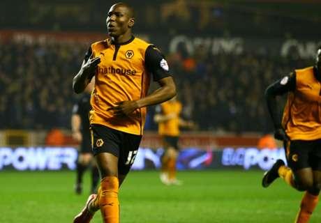 Wolves reject Norwich's Afobe bid