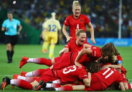 Germany take women's football gold