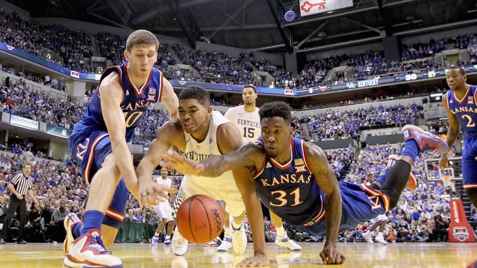 Three Reasons Kentucky Basketball Might Have One Of Its: Kentucky Vs. Kansas Tops Big 12/SEC Matchups
