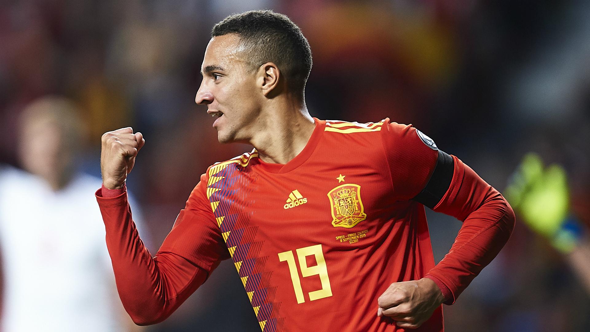 Spain 4-0 Faroe Islands: Rodrigo and Alcacer at the double