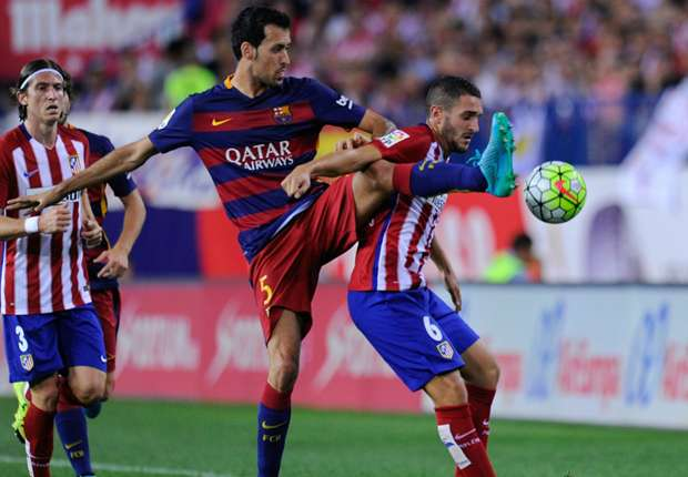 Atletico a bigger title threat than Real Madrid - Busquets