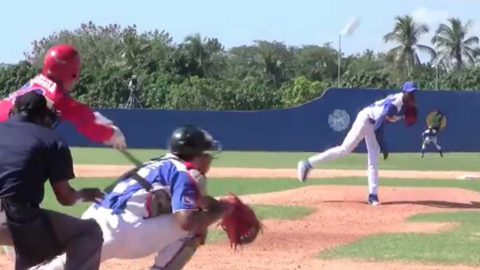 Dodgers sign hard-throwing Cuban pitcher Yadier Alvarez, 19