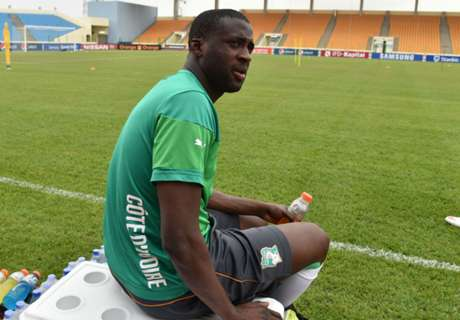 Toure keen for international return