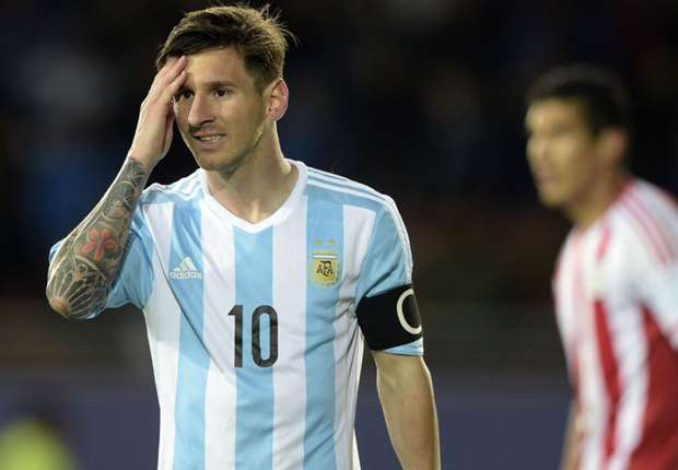 Messi refused man-of-the-match award after Argentina draw