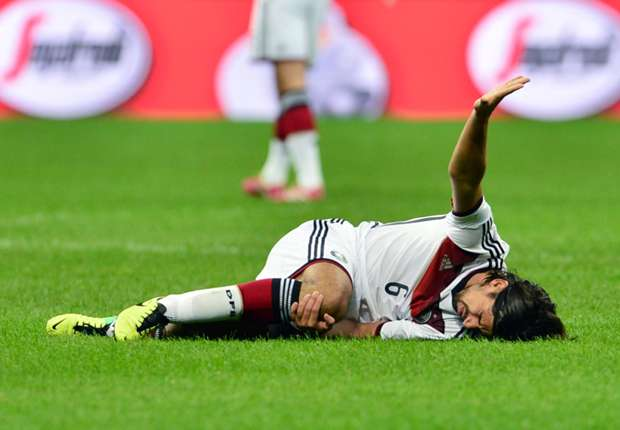 Sami Khedira: My recovery is the only thing that concerns me