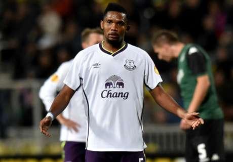 Krasnodar 1-1 Everton: Eto'o leveler
