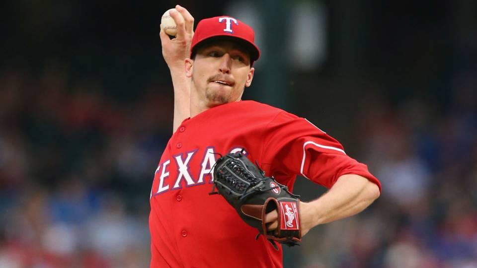 Rangers reliever Tanner Scheppers