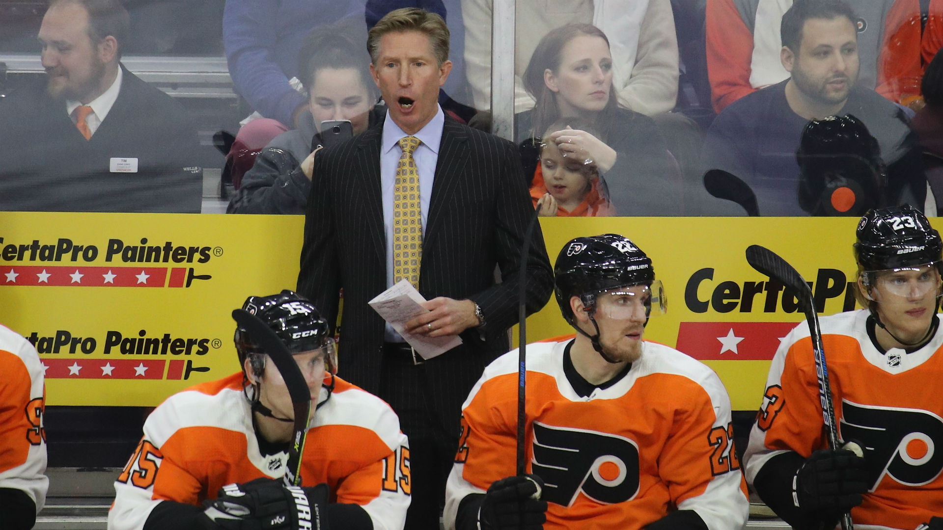 Flyers do indeed dismiss coach Dave Hakstol