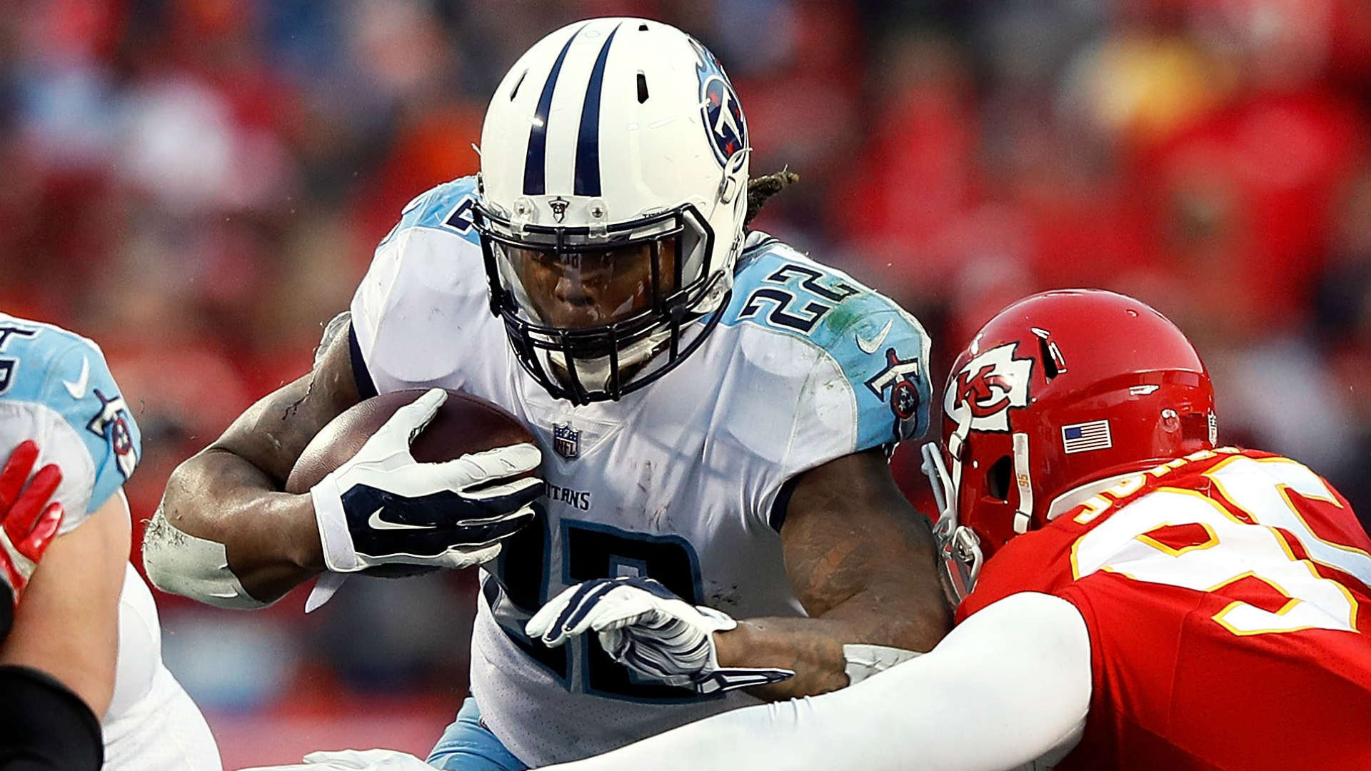 Titans RB Murray ruled out vs. Patriots