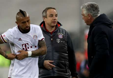 Vidal hoping to be ready for Arsenal
