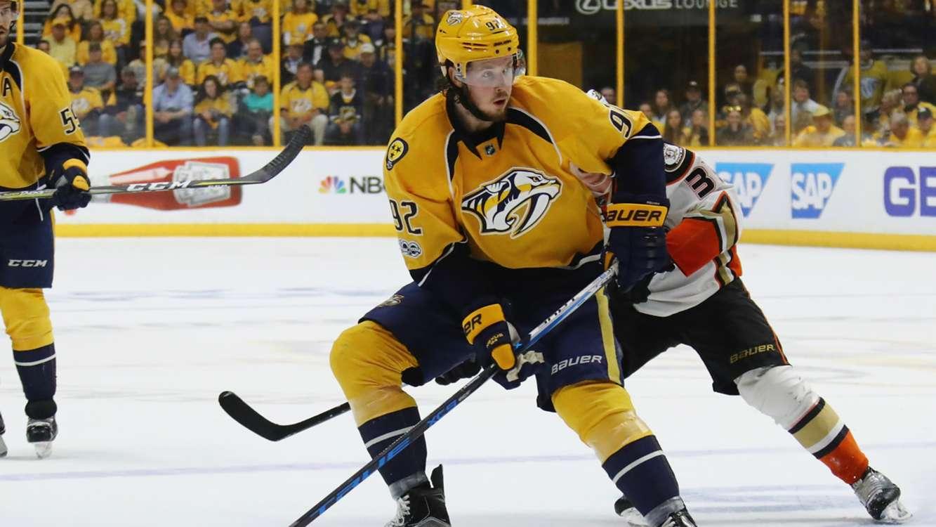 Predators top scorer Johansen sidelined after emergency surgery
