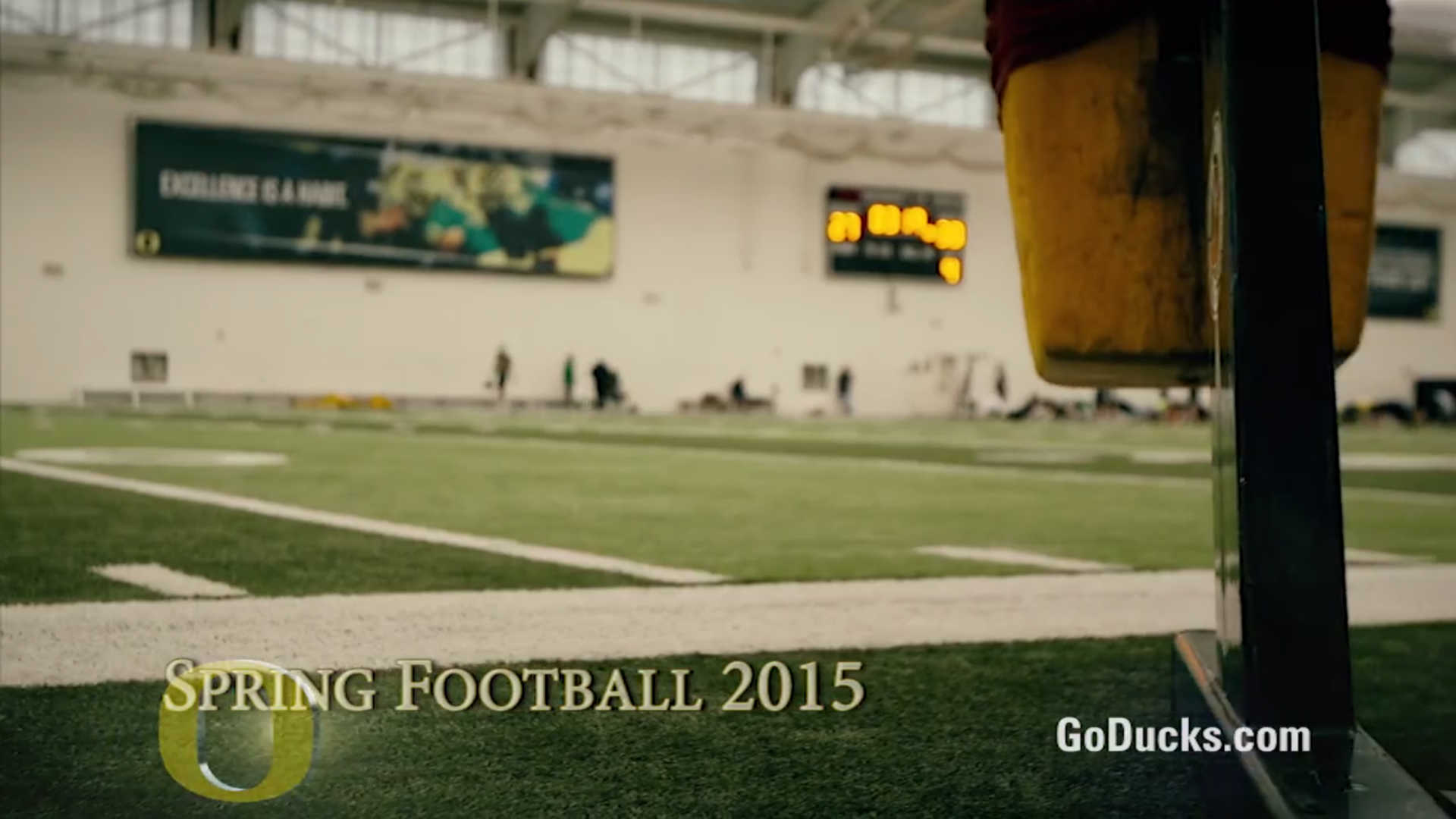 Oregon football releases spring game hype video