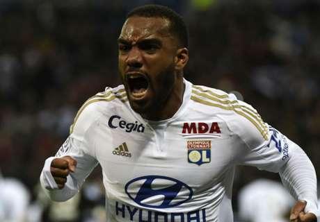 Lyon rejects Arsenal's Lacazette bid