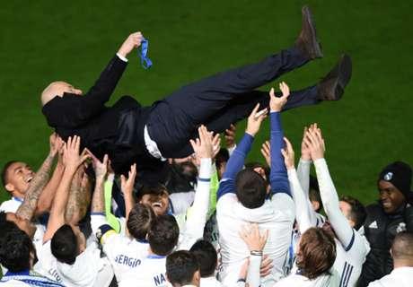 Zidane: 2016 was dog's bollocks
