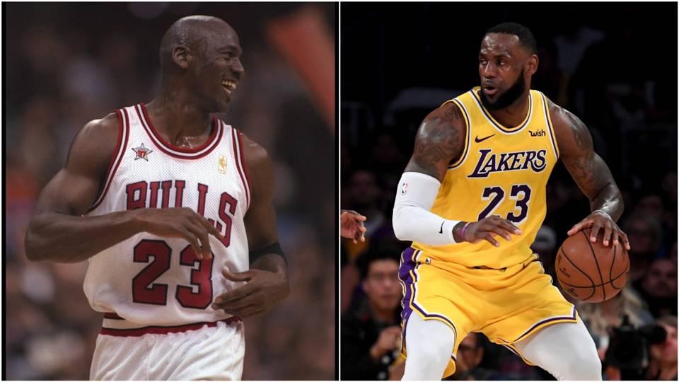 2e5275783887 LeBron James passes Michael Jordan  Who is the GOAT